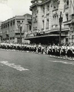 Desfile Sete de Setembro de 1954