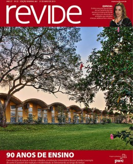 Capa da Revista Revide